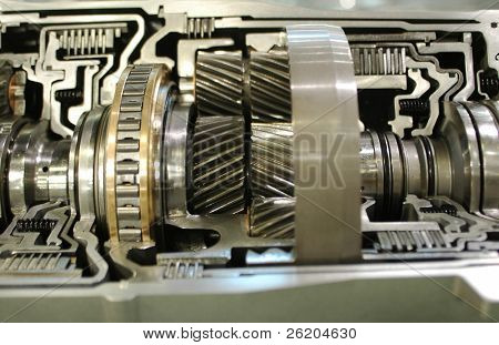 Inner parts of an engine