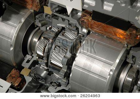 Part of car engine