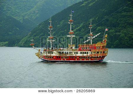 Schiff in Hakone, in der Nähe von tokyo