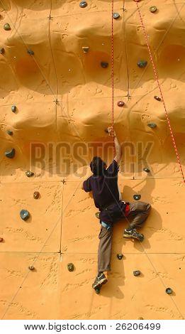Wall Klettern