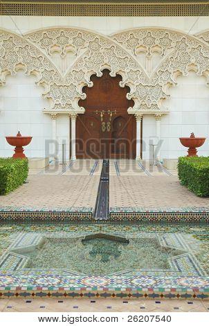 Moroccan Architecture Inner Garden