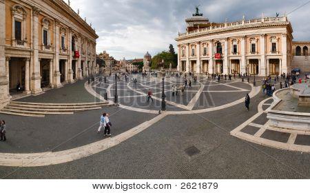 Piazza Del Campidoglio, Roma, Italy