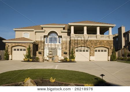 Palatial home in Northern California gated development