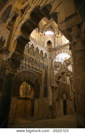 Cordoba Mosque Mihrab Side