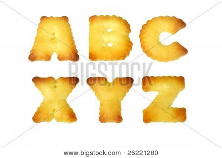 Alphabet Cookies ABC and XYZ