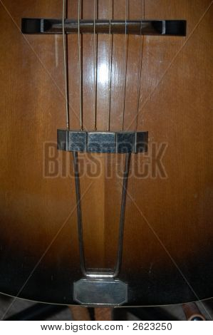 Antique Guitar Photo 3