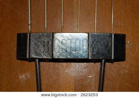 Antique Guitar Photo 6