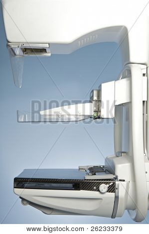 laboratory with mammography machine