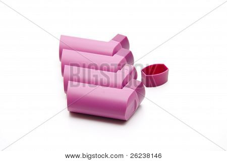 Inhaler for asthma spray