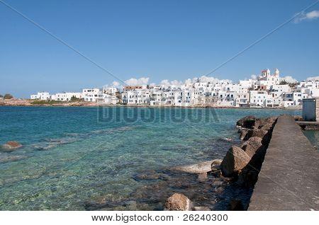 Naoussa, Paros island (Greece)
