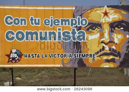 Propaganda de rua em Cuba
