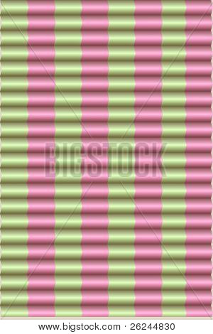 pink & green preppy blinds