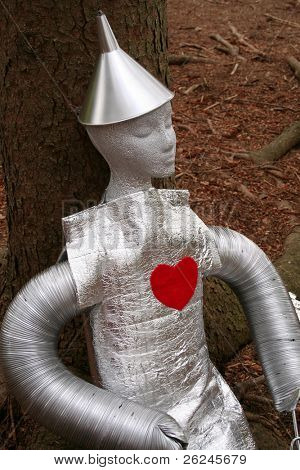 tin man for Halloween