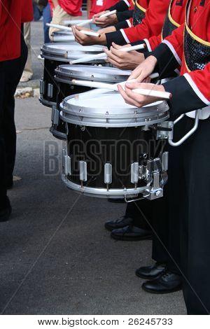 tambores en la banda