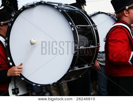 Drummer in the band