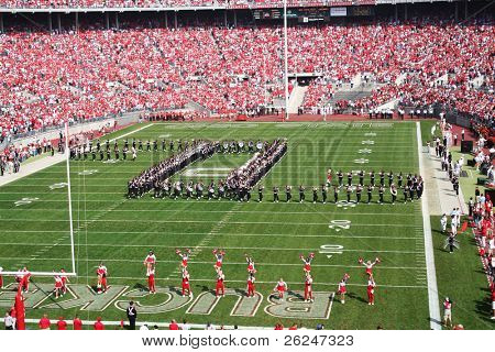 band prepares to write script Ohio before the Ohio State football game