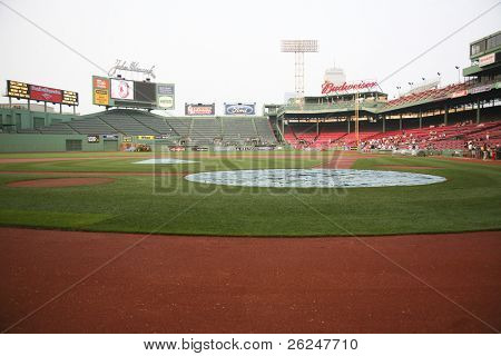 Fenway Park baseball stadium in Boston, Massachusetts