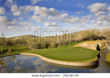 Resort golf course