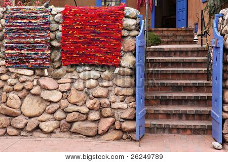Handmade rugs for sale in Santa Fe, New Mexico