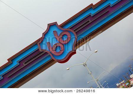 Historic Route 66 in Albuquerque, New Mexico