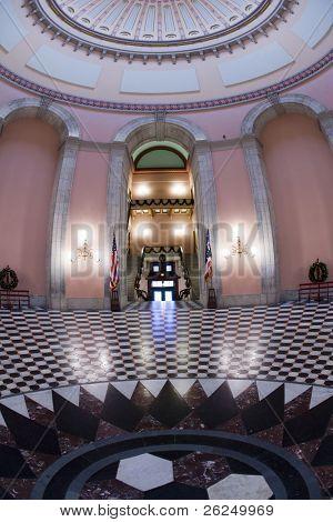 Rotunda de Assembléia Legislativa de Ohio em Columbus, Ohio