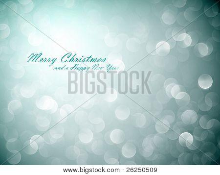 Flickering Lights | Christmas Background | EPS10 Vector with Separate Layers