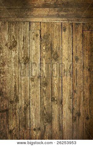 Wood Background Wild West Style