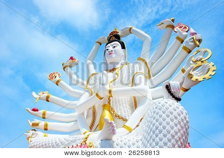 Statue Of Shiva In Thailand