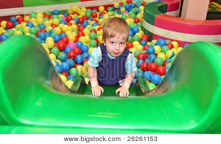 boy in the playground
