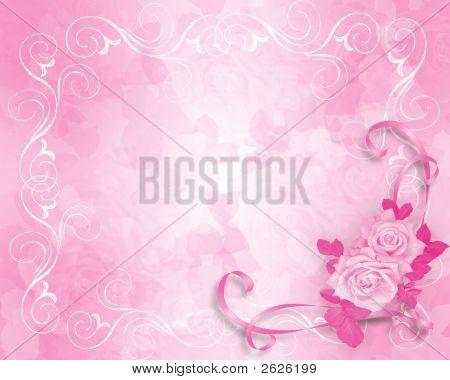 Pink Roses Victorian Design