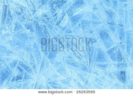 ice abstract textured background