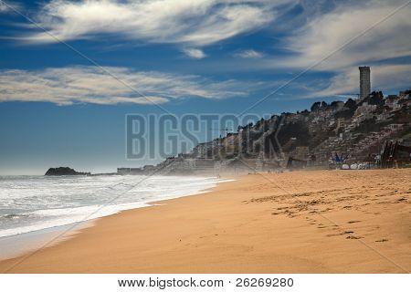 Strand von Vina Del Mar, Chile