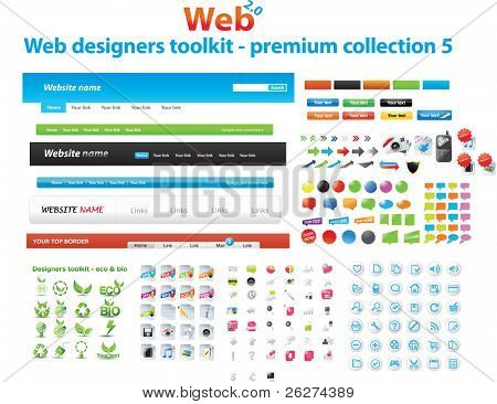 Web Designers Toolkit Premium Collection 5