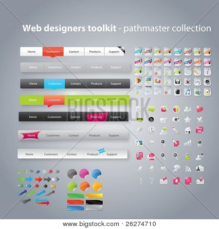 Web Designers Toolkit Pfadfinder collection