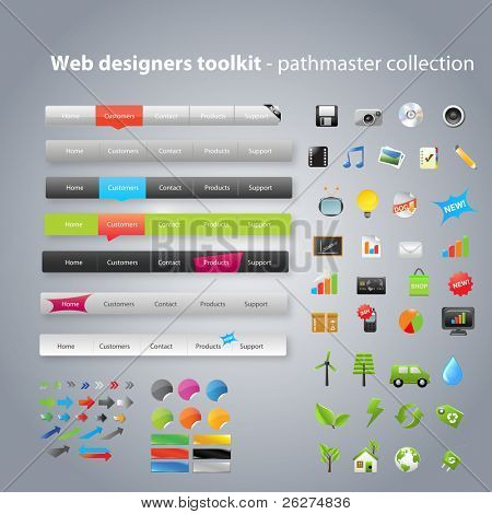 Web Designers Toolkit Pathmaster collection