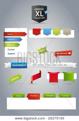 Editable web graphics