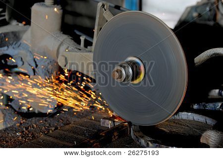 abrasive disk machine