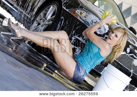 Auto-Waschanlagen-Modellen