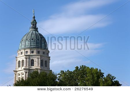 The Kansas State Capitol is the state capitol building of the U.S. state of Kansas.