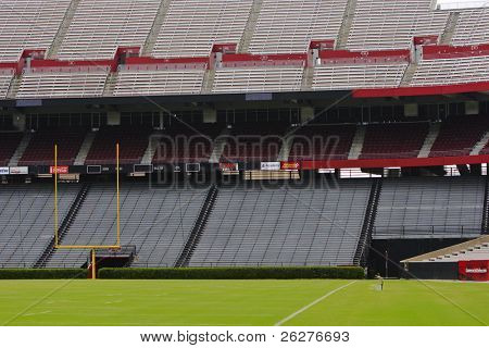 COLUMBIA, SC - JUN 9:  Williams-Brice Stadium is the home football stadium for the South Carolina Gamecocks, representing the University of South Carolina in Columbia, South Carolina on June 9, 2009.