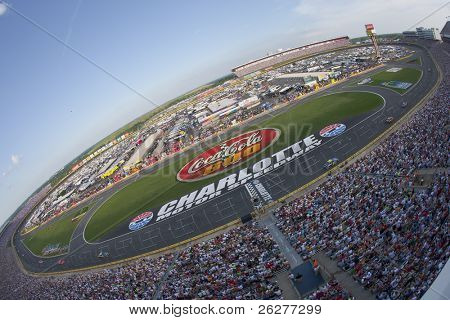 CONCORD, NC - MAY 30:  Charlotte Motor Speedway plays host to the longest NASCAR Sprint Cup race of the season for the running of the Coca-Cola 600 on May 30, 2010 in Concord, NC.