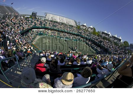 CHARLESTON, SC -  APRIL 17:  The Sony Ericsson Tour stops in Charleston, SC for the Family Circle Cup Tennis Tournament on Apr 17, 2010