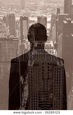 Hombre en la ventana