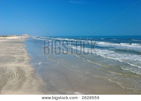 Beach In Padre Island
