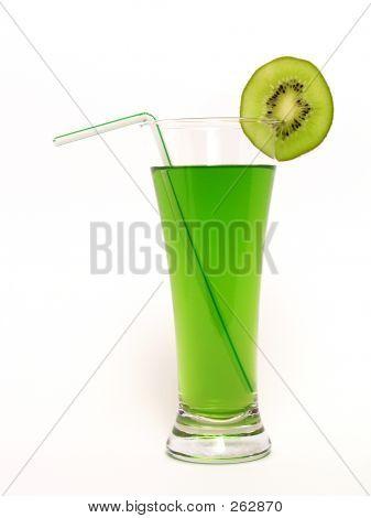 Jugo de kiwi � verde bebida