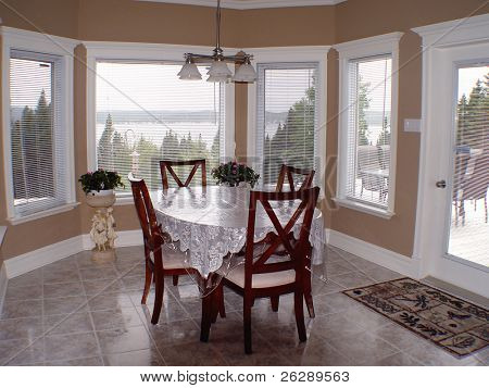 Interior view of Diningroom