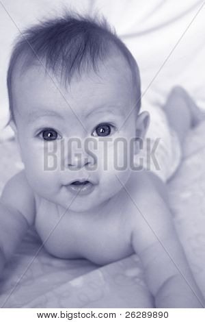 Little Baby Boy in crib