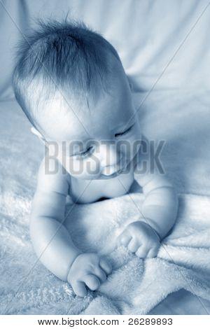 Little Baby in Blue