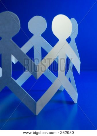 Paper People Blue 1