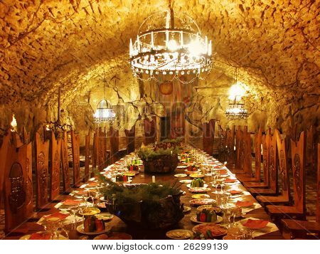 dracula`s dining room